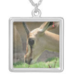 Gazelle Sterling Silver Necklace