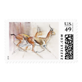 Gazelles árabes corrientes 2010 timbres postales