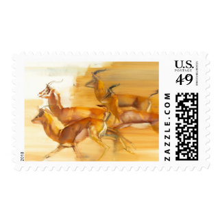 Gazelles corrientes 2010 sellos postales