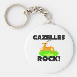 Gazelles Rock Keychain