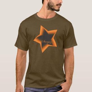 Gazer de la estrella que mira hasta las estrellas playera