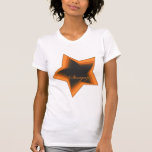 Gazer de la estrella que mira hasta las estrellas camisetas