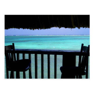 gazing at the Reef, Belize Postcard