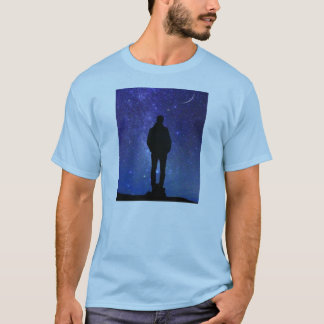 GAZING AT THE STARS ASTRONOMY CONSTELLATIONS T-Shirt