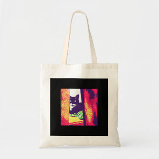 Gazing Lucy Painting Tote Bag