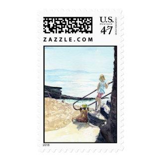 Gazing Postage