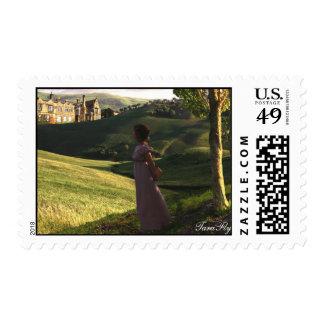 Gazing Upon Pemberley postage