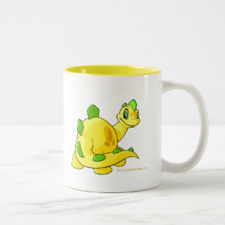 Gazing yellow Chomby Two-Tone Coffee Mug