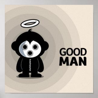 """Gazzzpio - Good Man"" Poster"