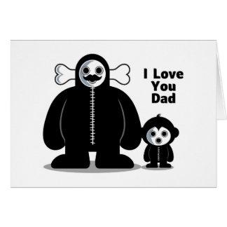 """Gazzzpio & His Father - I Love You Dad"" Card"