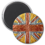 GB - Bandera británica Union Jack GB Imanes