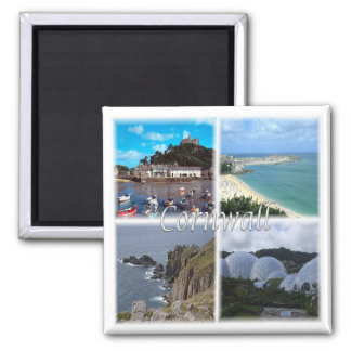 GB * England - Cornwall England Land'S End St. Ive Magnet