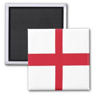 GB - England - Flag 2 Inch Square Magnet