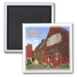 GB * Escocia - Pitlochry - destilería de Blair Imán Cuadrado