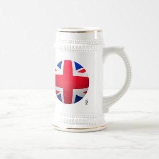 GB Football Beer Stein