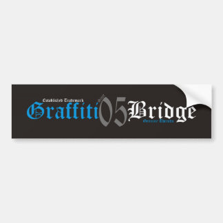 GB GENUINE THREADS BLUE BUMPER STICKER