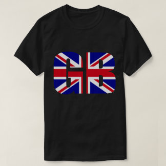 GB Great Britain Union Jack Flag T-shirt