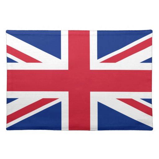 GB Great Britain  Union Jack London british flag Place Mats