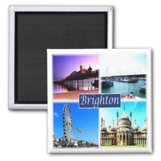 GB * Inglaterra - Brighton Imán Cuadrado