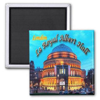 GB - Inglaterra - Londres - La Albert real Pasillo Imán Cuadrado