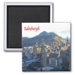 GB - Scotland - Edinburgh 2 Inch Square Magnet