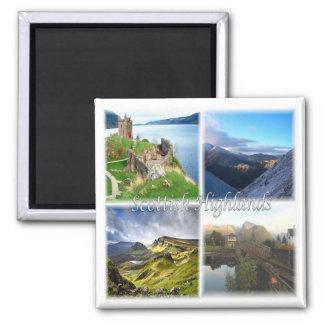 GB Scotland Scottish Highlands Ben Nevis Loch Ness Magnet