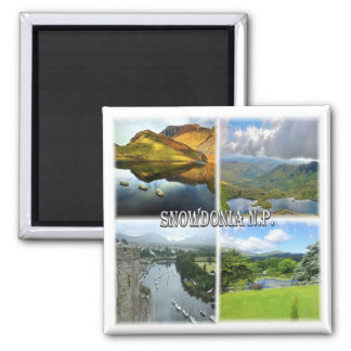GB * Snowdonia National Park Magnet