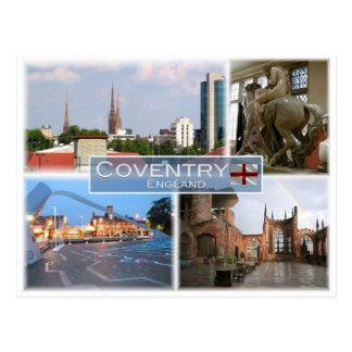 GB United Kingdom - England - Coventry - Postcard