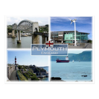 GB United Kingdom - England - Plymouth - Postcard
