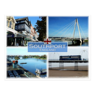 GB United Kingdom - England - Southport - Postcard