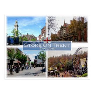 GB United Kingdom - England - Stoke-On-Trent - Postcard