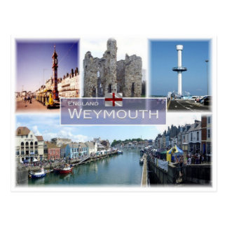 GB United Kingdom - England - Weymouth - Postcard