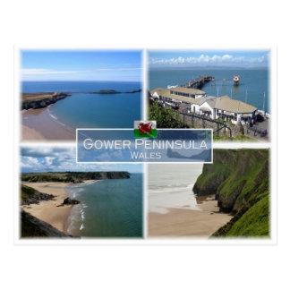 GB United Kingdom - Wales - Gower Peninsula - Postcard