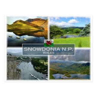 GB United Kingdom - Wales - Snowdonia N.P. Postcard