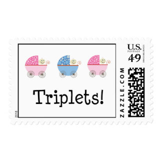 GBG Baby Carriage Triplets! Stamp