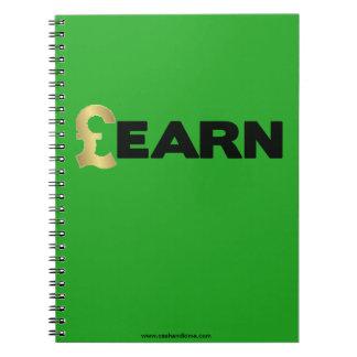 GBP Learn Notebook (Green)