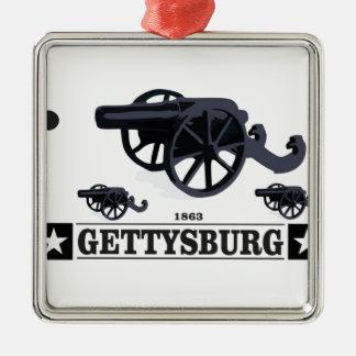 gburg cw art metal ornament