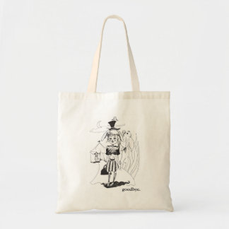 """""""G'bye My Clown"""" Tote, with """"goodbye."""" Inscription Tote Bag"""