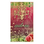 GC | Adore | Vintage | Exquiste Gold Metallic Business Card Template
