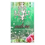 GC | Adore | Vintage | Mint Business Card