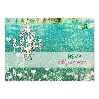 GC Adore Vintage RSVP fits Square Invitation