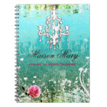 GC Adore Vintage Turquoise Notebooks