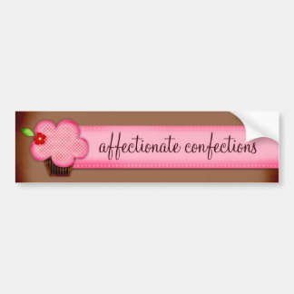 GC | Affectionate Confections Bumper Sticker