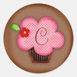 GC | Affectionate Confections Monogram Sticker