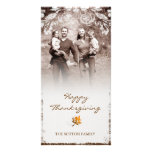 GC | Aged Thanksgiving Photo Card