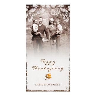 GC | Aged Thanksgiving Photo Card