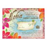 """GC Aloha Luau Island 2 5"""" X 7"""" Invitation Card"""