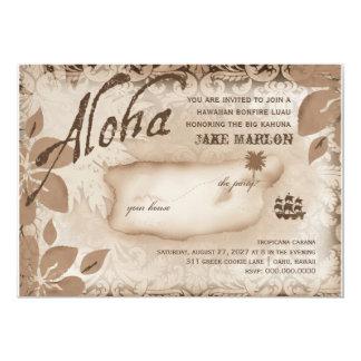 Gc | Aloha Luau Island Brown Card