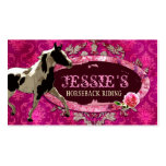 "GC | ""AnnaBelles"" Horse Ranch Double-Sided Standard Business Cards (Pack Of 100)"