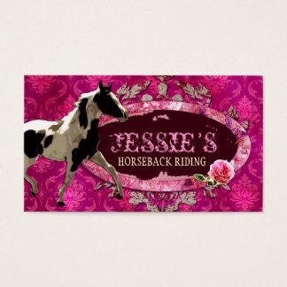 "GC   ""AnnaBelles"" Horse Ranch Business Card"